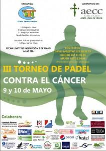 III Torneo de padel contra el cancer